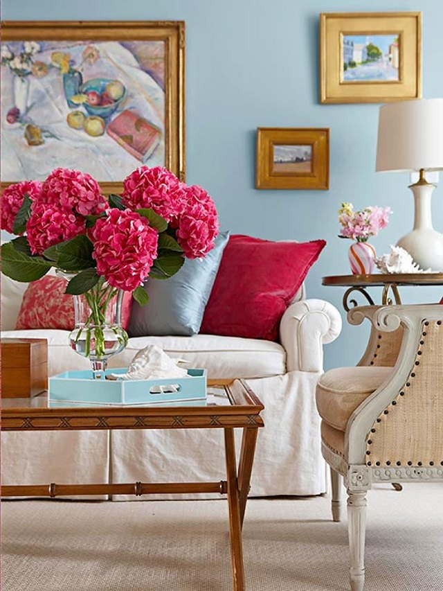 Fresh ideas to decorate my living room in summer for Room decor ideas summer