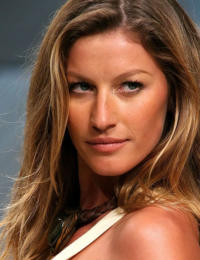Gisele Bündchen: the highest-paid model Gisele Bundchen