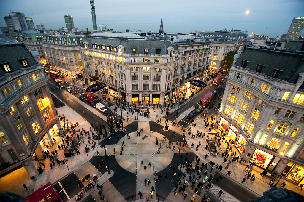 best streets to shop after london fashion week 2013