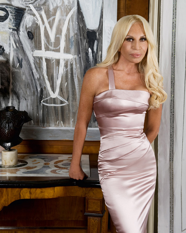 Donatella Versace Fashion Designer