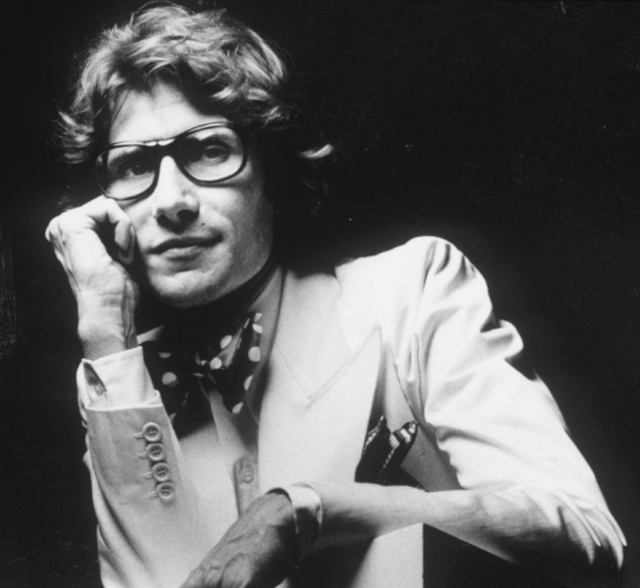 Yves Saint Laurent fashion designer
