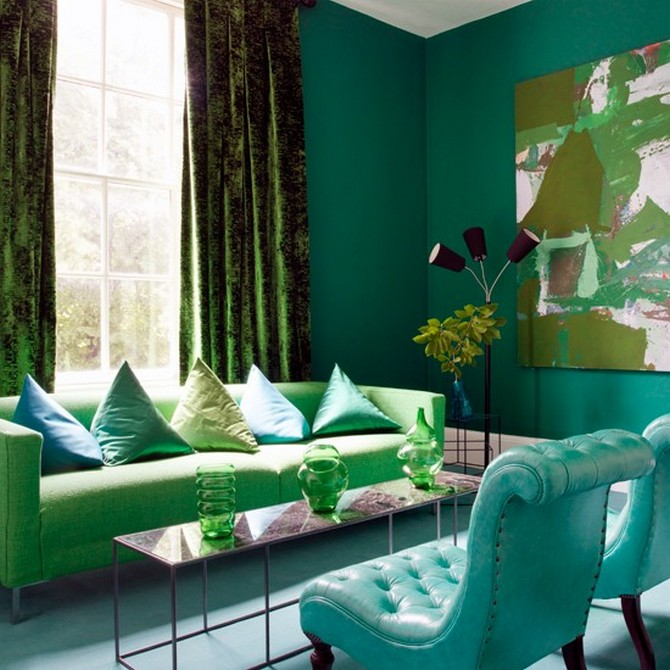 Green Emerald Decoration Ideas