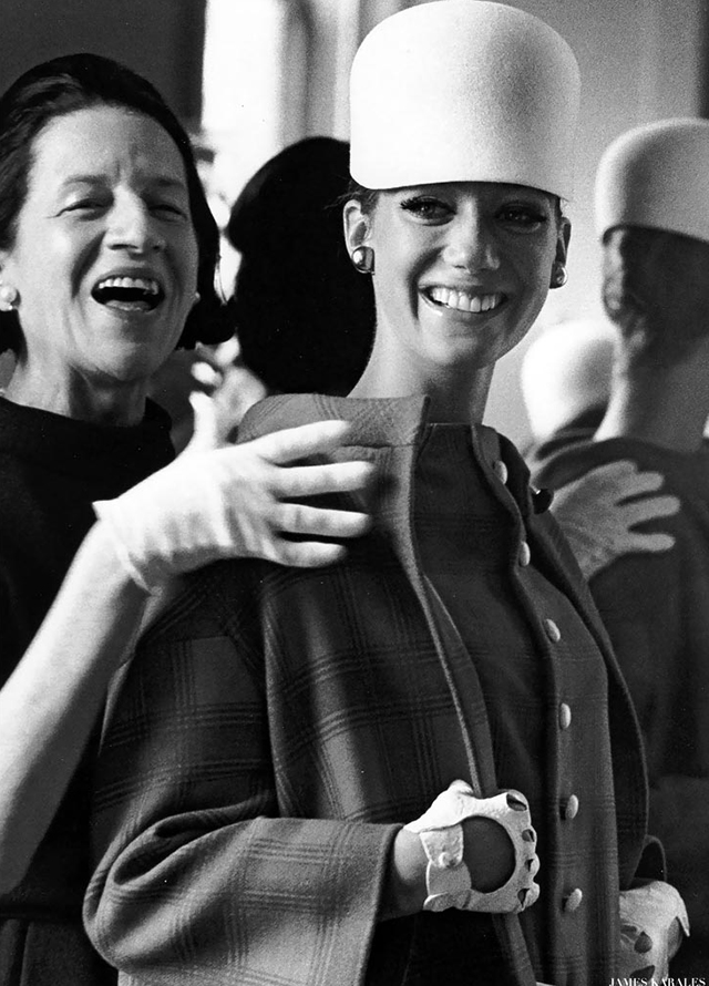 Diana Vreeland Quotes: The Eye Has to Travel Diana Vreeland Quotes: The Eye Has to Travel Diana Vreeland Quotes: The Eye Has to Travel marisa berenson with friend and mentor diana vreeland editor in chief of vogue 1962 1971 photo by james karales