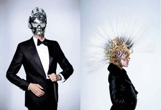 Pat McGrath and Gaultier Halloween masks | Halloween masks ideas from your favorite Designers