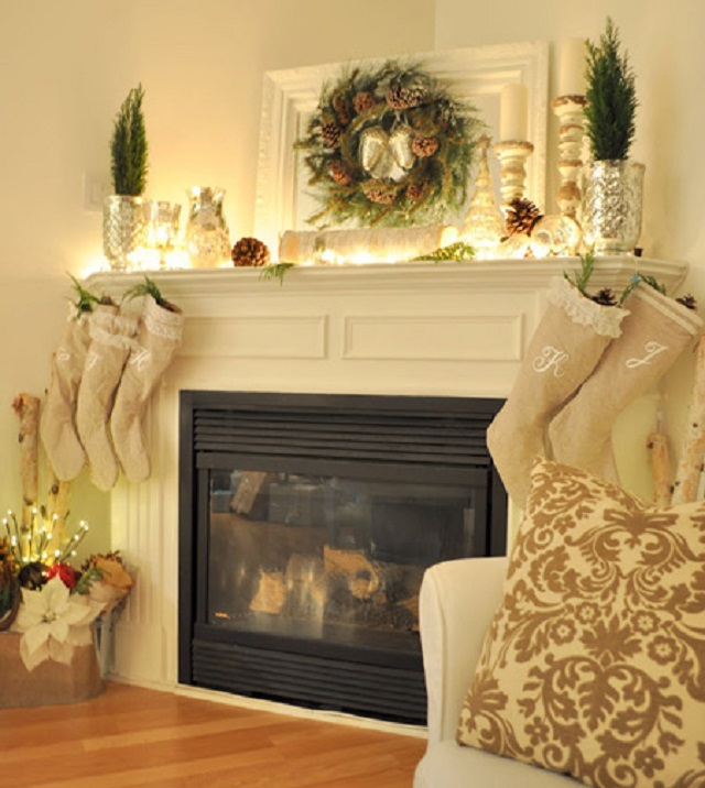 Home Secrets 10 Glamorous Winter Decor Ideas Light Your