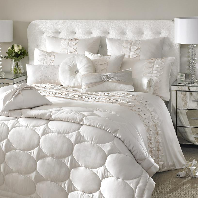 Kylie Minogue At Home White Bedding