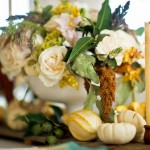 Thanksgiving traditional centerpiece