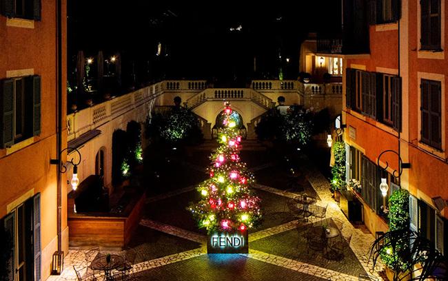 Fendi Christmas Tree Rome