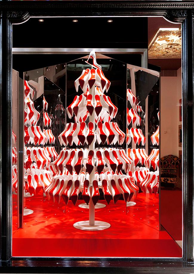 Louboutins christmas tree