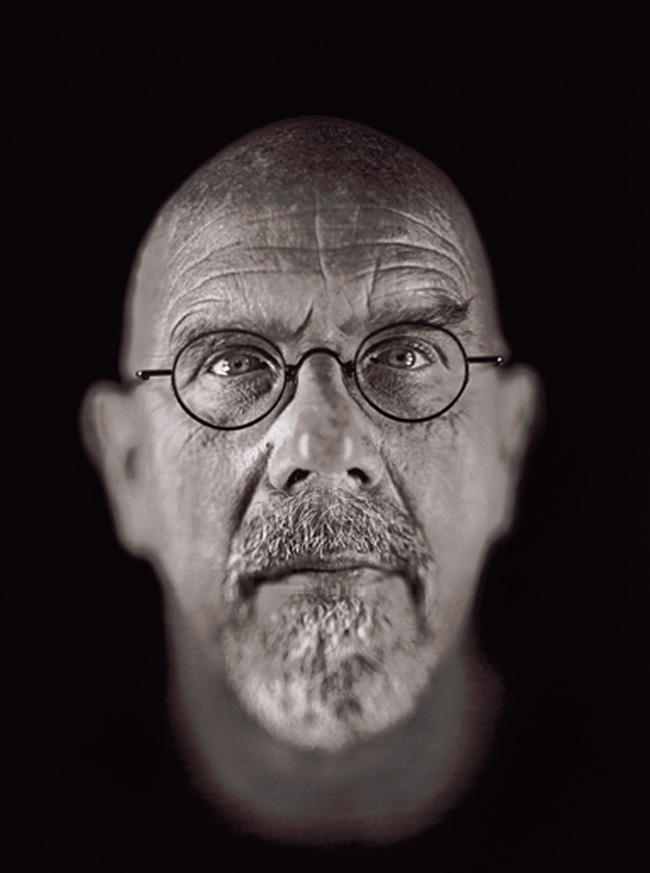 Chuck Close self portrait | Fine Art – Top 15 Artists – Chuck Close
