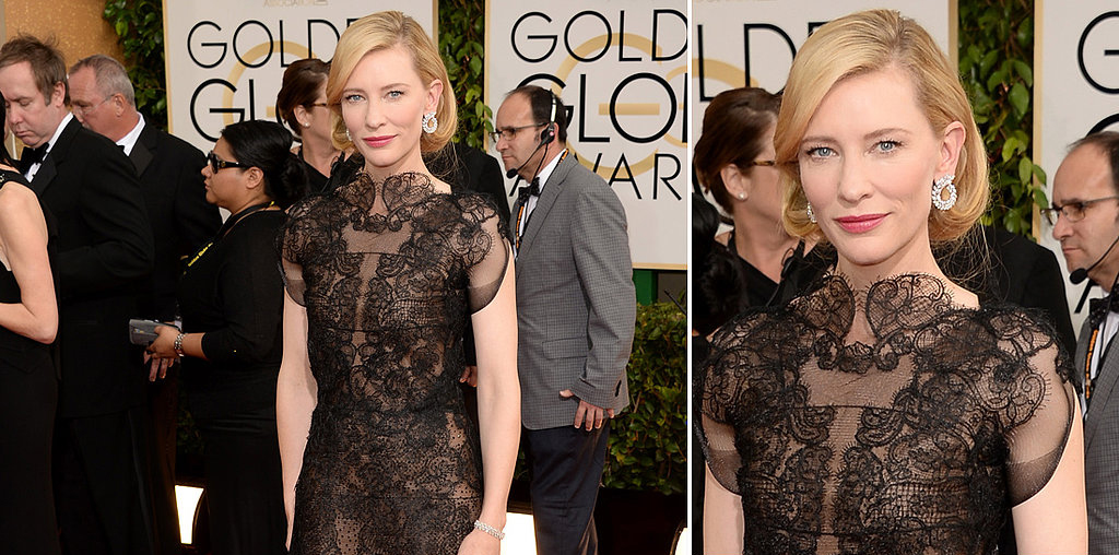 Cate Blanchett at the Golden Globe Awards 2014