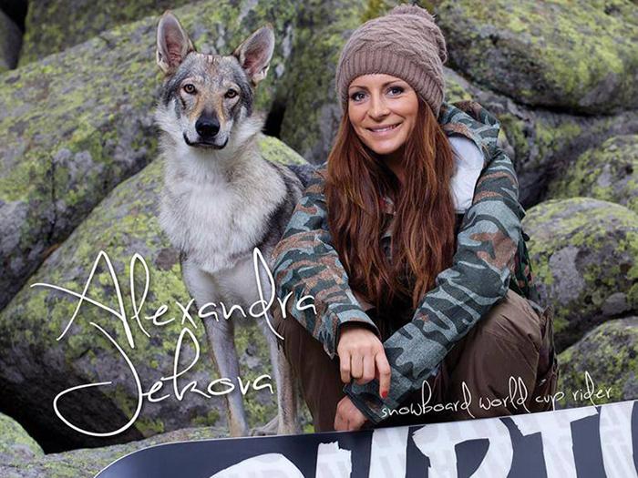 Alexandra Jekova st the Sochi Olympic Games