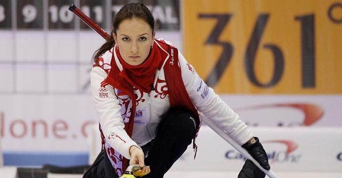 Anna Sidorova at the Sochi Olympic Games