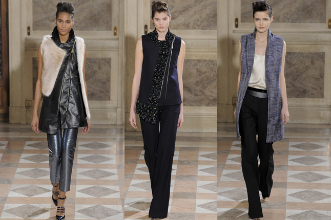 Bouchra Jarrar show 2014 paris fashion week