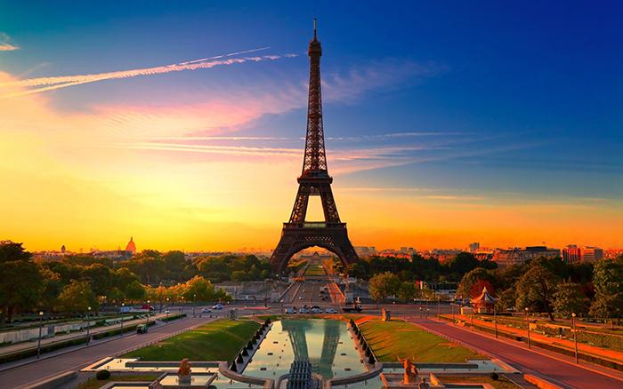 Eiffel Tower Paris France romantic cities