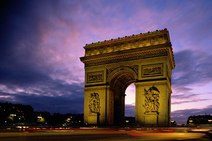 Paris Champs Elysees Romantic cities