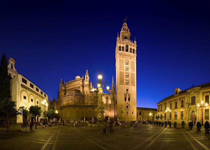 Plaza Virgen de los Reyes-Seville Spain romantic cities