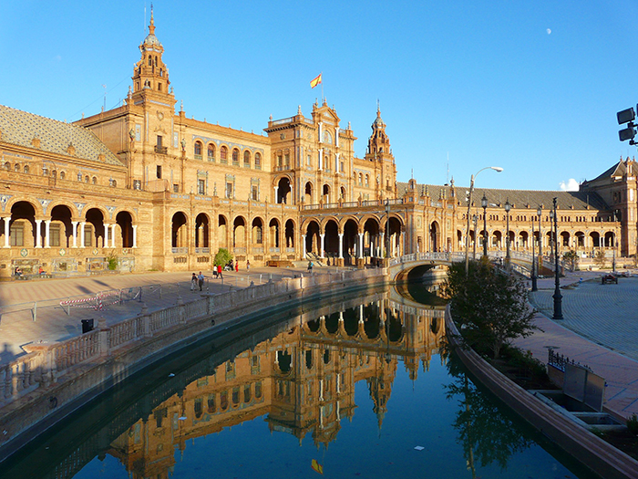 The Most Romantic cities in the World for Valentine's Day Seville Spain romantic cities