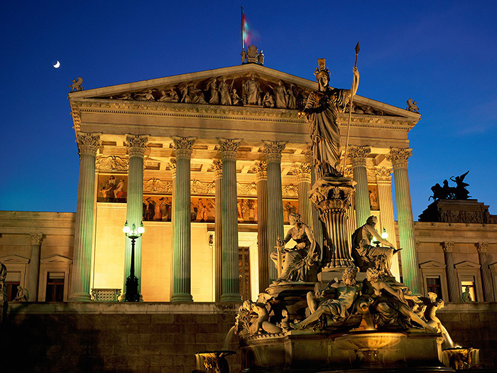 The Most Romantic cities in the World for Valentine's Day Vienna Austria romantic cities