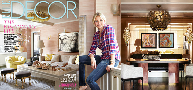 Cameron Diaz Manhattan Apartment Designed By Kelly Wearstler