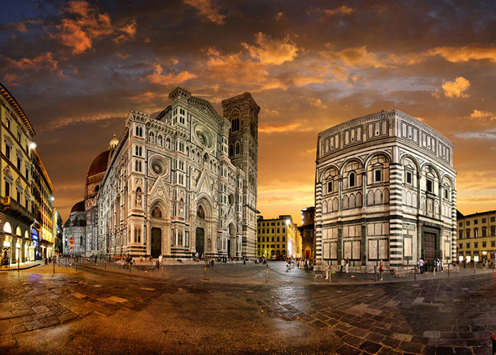 The Most Romantic cities in the World for Valentine's Day Florence cathedral Italy romantic cities