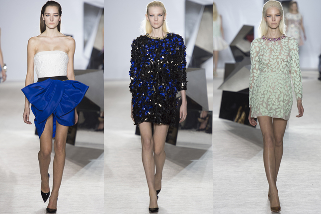 Giambattista Valli show 2014 Paris Fashion Week