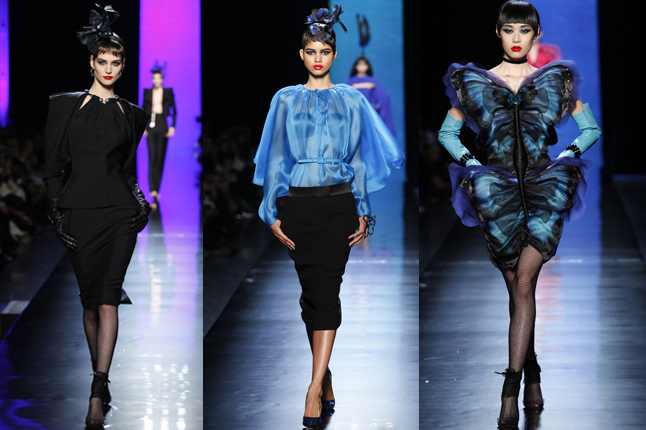 Jean Paul Gaultier show 2014 Paris fashion week