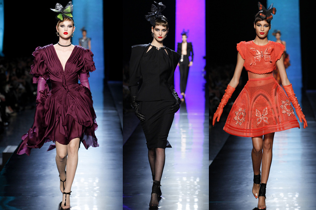 Jean Paul Gaultier show 2014 Paris