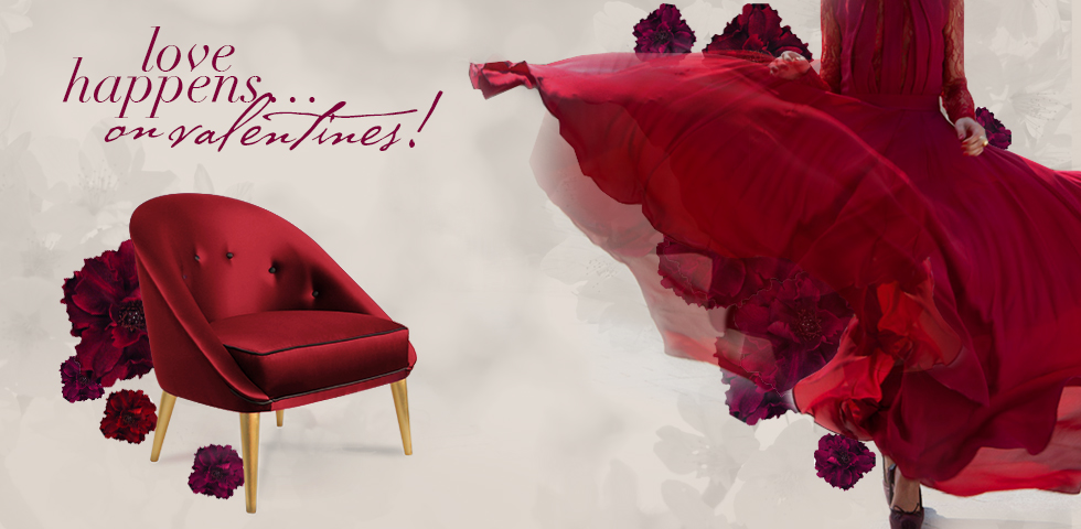 ultra modern red passion love seat   Valentine's Day 50% off Sale - Passionate Red Nessa Chair ...