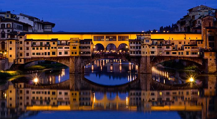 Ponte Vecchio Florence Italy romantic cities