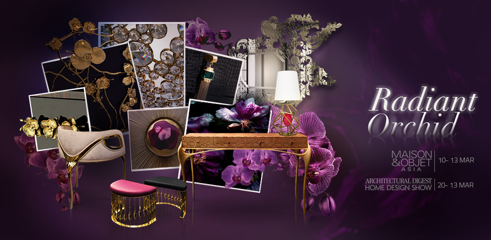 Radiant Orchid trend 2014 by Koket
