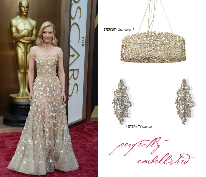 Cate Blanchet at red carpet oscars 2014
