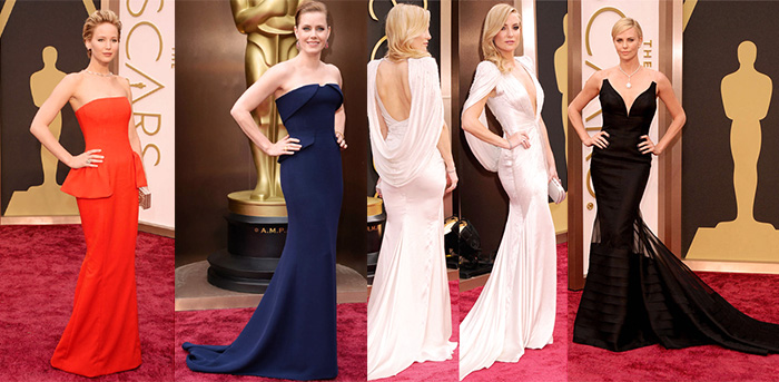 Oscars 2014 Best Dressed: Screen Siren Style on the red carpet