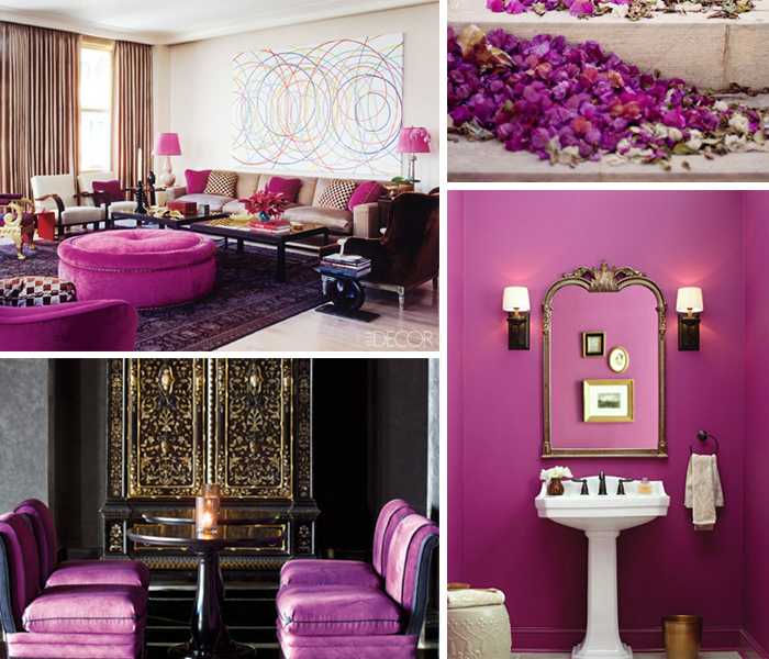 Radiant Orchid Trends 2014 Color Crush By Janet Morais