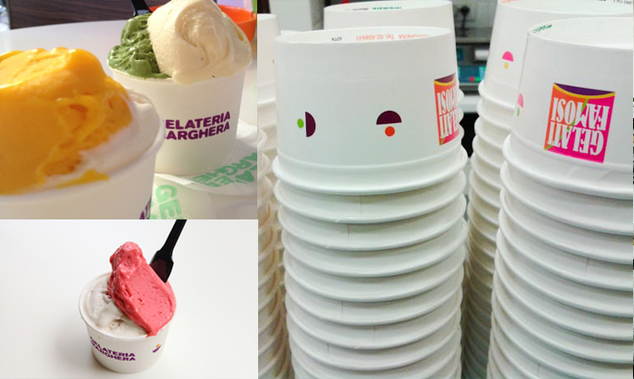 Gelateria Marghera Milano ice creams