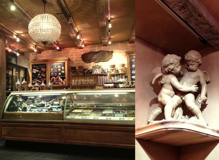 amorino ice cream shop interior