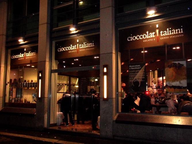 cioccolati italiani ice cream store