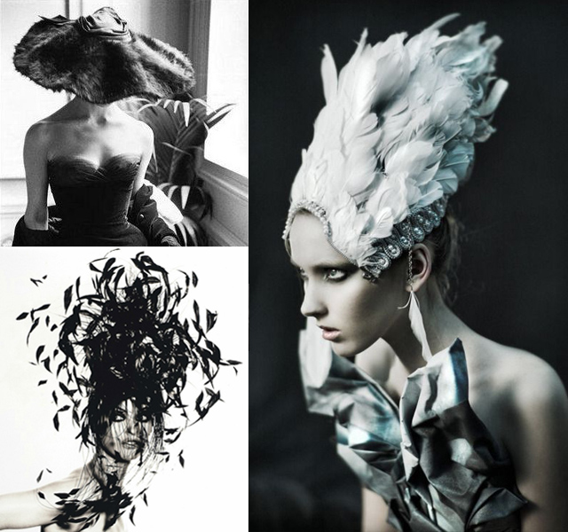 feathers hat inspiration