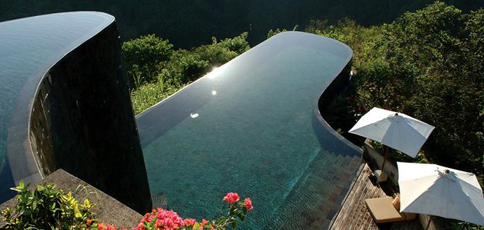 Hanging Gardens Swimming Pool Ubud Bali