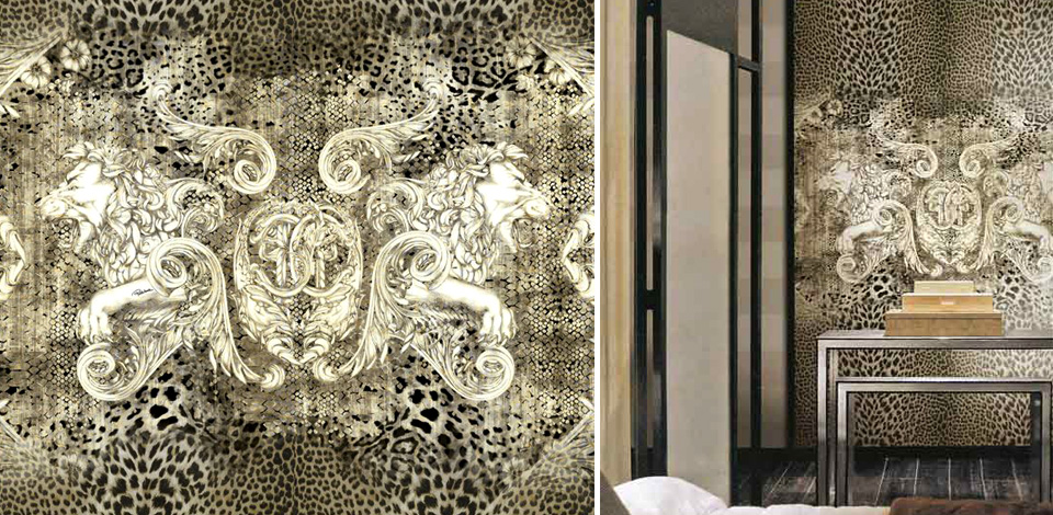 Icona Roberto Cavalli Home Wallpaper