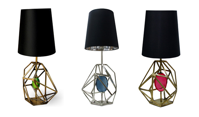 Gem Table Lamp Koket collection color trends