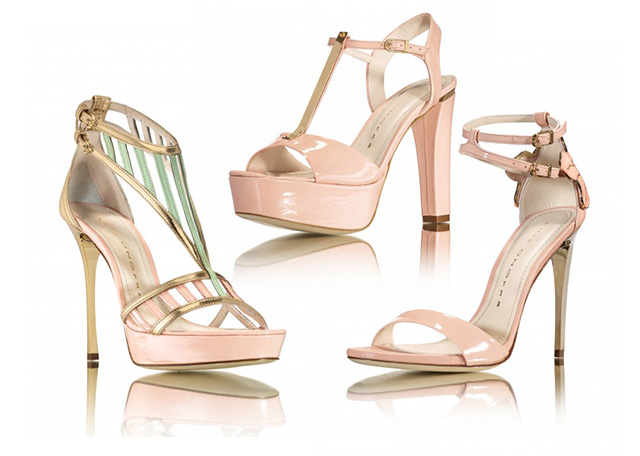 Luis Onofre different flavours collection soft colors heels