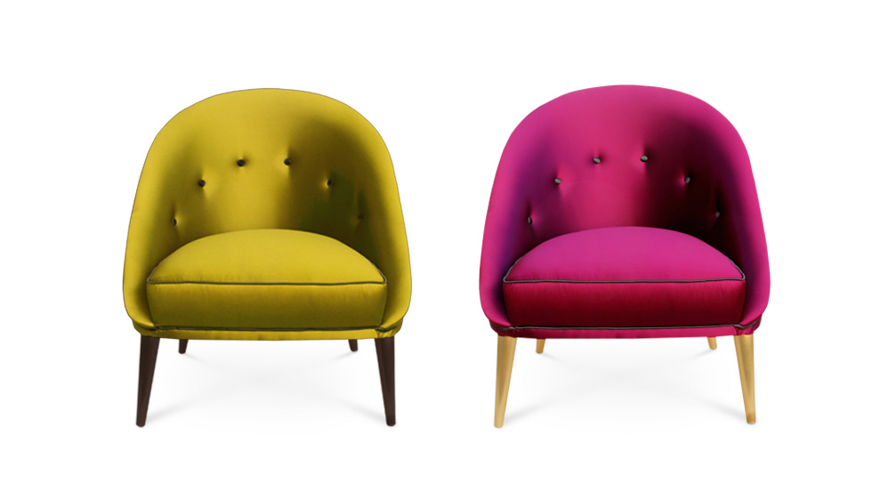 Nessa Chair Koket collection color trends