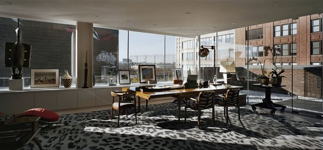 Most stylish houses diane von f rstenberg 39 s manhattan penthouse - Unique house interior ideas influenced by various world fashions ...