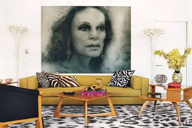 Most Stylish Houses: Diane von Fürstenberg's Manhattan penthouse Most Stylish Houses: Diane von Fürstenberg's Manhattan penthouse item2