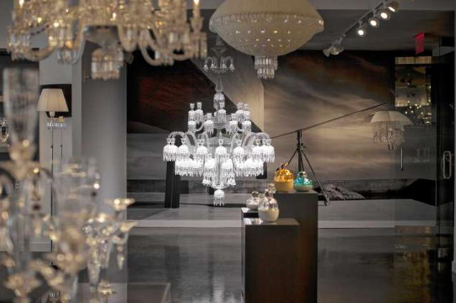 The Solstice Comete Chandelier by Baccarat