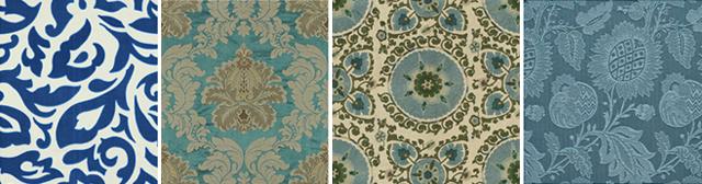 Oscar de la Renta fabrics collection patterns