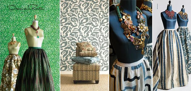 Oscar De La Renta New Home Decor Fabric Collection