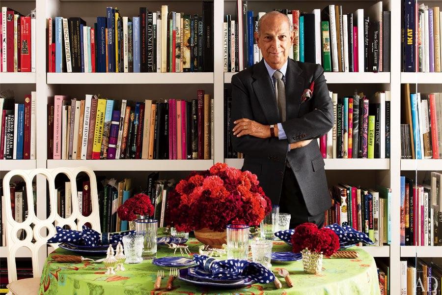 Oscar de la Renta's couture décor fabric comes to your Home