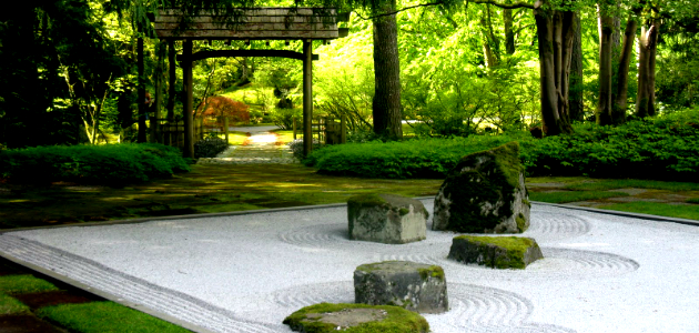 Zen gardens on pinterest for Japanese meditation garden design